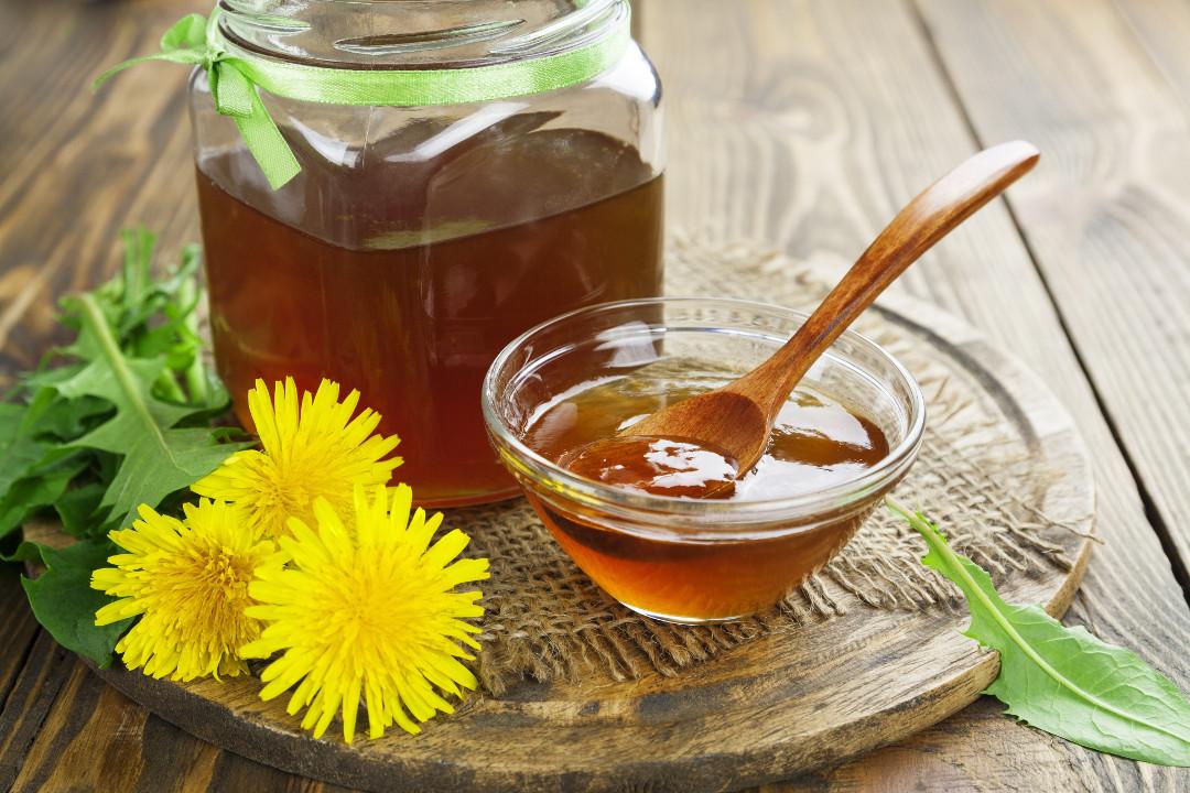 Мед из одуванчика с фото