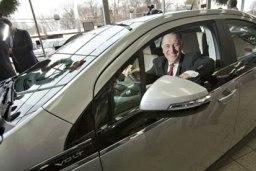 Nový hybridní automobil od General Motors na trhu v USA