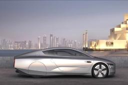 Prototyp Volkswagen XL1 spotřebuje pouhých 0,9 l/100 km!