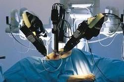 Srdce v rukou robota