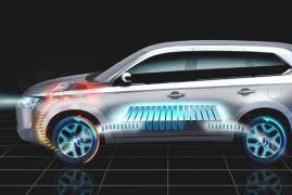 Mitsubishi Outlander Plug-in Hybrid EV ve světové premiéře na autosalonu v Paříži