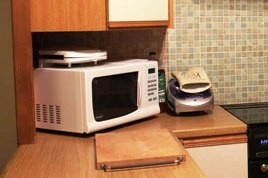 Overheated microwave again on store shelves