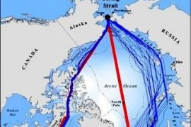 Global warming will open new shipping routes in the Arctic