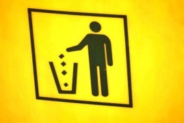 German Frankturt about innovation in waste recycling: the yellow container can be put and metals