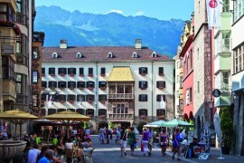 Innsbruck from an eagle's perspective