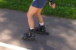 Rollerskating has a positive impact not only on the heart