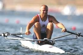 The Olympic record holder repairman. Václav Chalupa found a home in rowing workshop