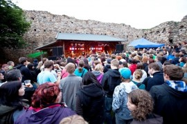 Castles CZ Festival starts on Tocník in a new complex