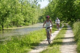 The cycling helmet is - always