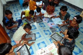 Number of illiterate people in the world falls
