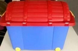 Hazardous boxes of children's toys still on sale!
