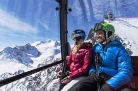 Pitztal Glacier: Winter season in full swing