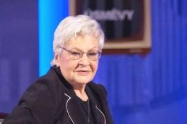 The first lady of television Kamila Moučková the theater scene Švandovo