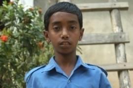 Sujono Chowdhori already studying at a boarding school