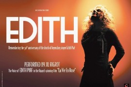 The Show Edith - Edith Piaf comes alive in Prague and Brno