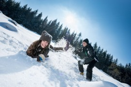 The variety of winter in Lower Austria