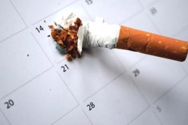 Keep New Year's Resolutions - stops smoking!