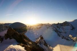 Happy (ski) End the Pitztal Glacier
