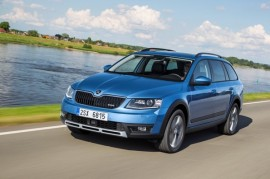 The new Octavia Scout: The real adventurer for family and leisure