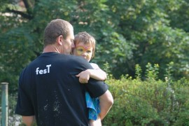 When saving the forest nursery it is also a masculine element in preschool education