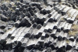 Basalt stone sea in the Elbe Sandstone became a nature reserve