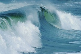 Climate change brought waves of the size of the house