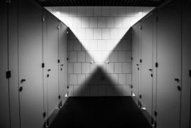 Adventures in public toilet