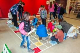 Giant Scrabble on Lužinách
