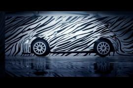 """Nová Škoda Fabia R 5 v """"zebřím"""" designu fascinuje na Facebooku, YouTube a Twitteru"""