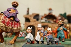 Unique exhibition of nativity scenes. On display are rarities.
