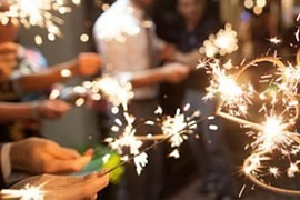 End of Christmas injuries! Needles, sparklers or glass ornaments you not thrown