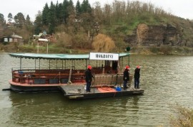 The oldest ferry in Bohemia opened after a few centuries
