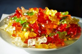 Gummi bears on the joints? Myth with a great deal of sugar