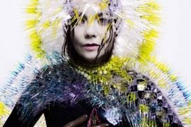 Björk at this year's Colours of Ostrava with a new album Vulnicura
