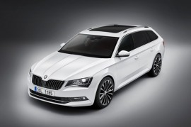 New Skoda Superb Combi
