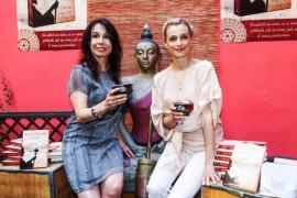 Ivana and Nela Jirešová Boudová christened a new book about Buddhism