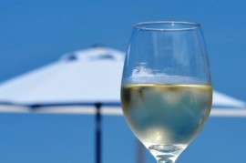 Czechs favorite wine? In the summer, especially chilled Pinot Gris