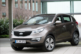 The new Kia Sportage at the Frankfurt Motor Show. The worldwide premiere.