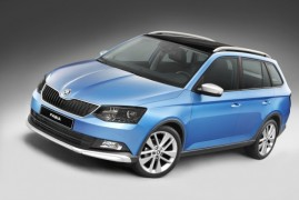 The new Škoda Fabia Combi ScoutLine: Popular combi in offroad style