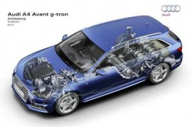 Natural gas drive: New Audi A4 Avant g-tron