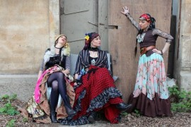 Gypsy rhythms, mystical Prague and computer games offer contemporary mime