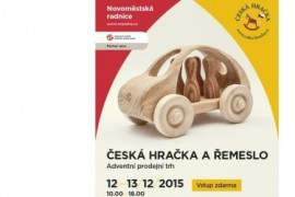 Czech toys and crafts for the third time at the New Town Hall