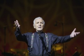 Charles Aznavour first time in the Czech Republic!