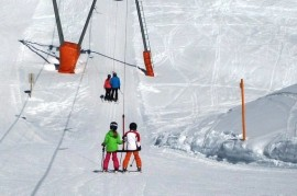 With children on skis? Principles for a happy winter holiday