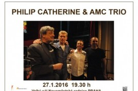 Philip Catherine & AMC Trio, Belgian-Slovak jazz in Prague