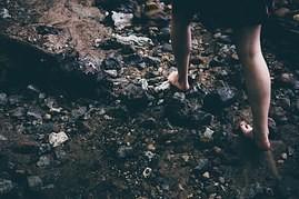 Walk barefoot ....