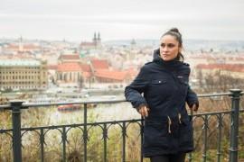 Spectacular concludes Lenka Dusilová a dancer Tendayi Kuumba