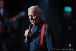Charles Aznavour will perform in Prague