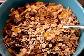 Breakfast cereals - as if you had breakfast cake
