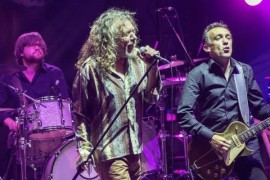 The voice of Led Zeppelin - Rock legend Robert Plant's in July moves in Pilsen